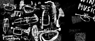 Plakat Духовые музыкальные инструменты