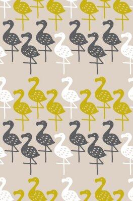 Plakat 北欧風のシームレスパターン