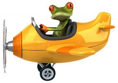 Plakat Zabawa żaba