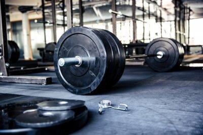 Plakat Zbliżenie obraz sprzętu fitness