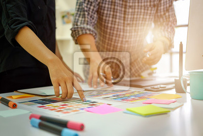 Plakat Zespół Projektantów pracuje.