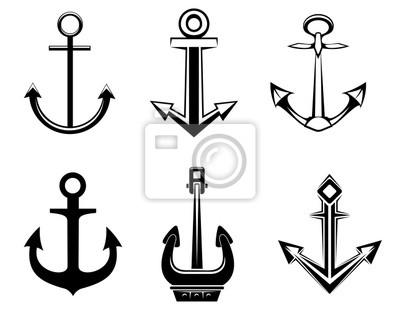 Zestaw symboli zakotwiczenia