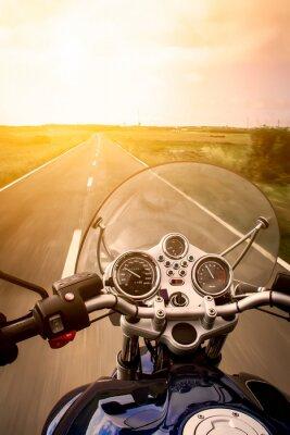 Plakat Zobacz motocyklista