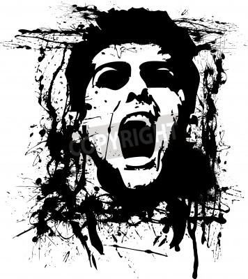 Plakat zombie horror