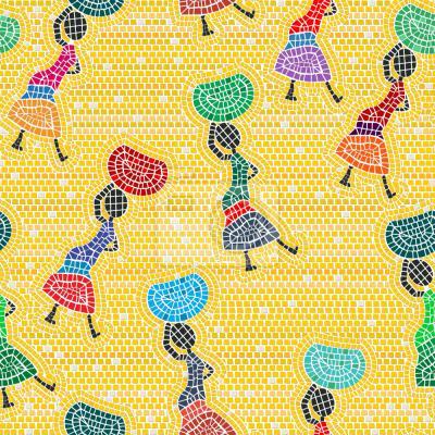 Tapeta Afrykańskie Kobiety