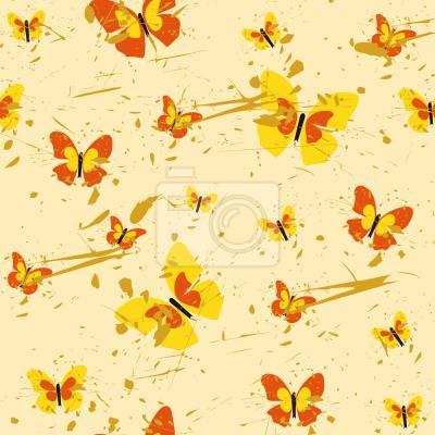 Tapeta Akcja Malarstwo Motyl