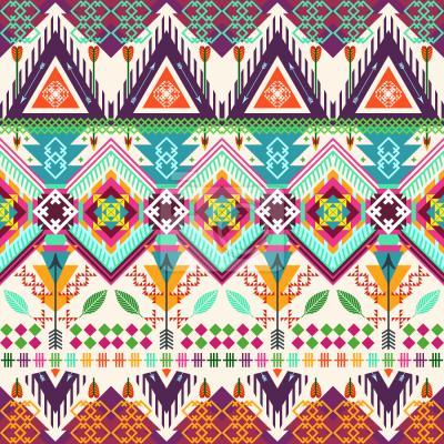 Tapeta Aztec sztuki plemiennych
