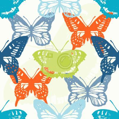 Tapeta Badania Butterfly