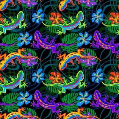 Tapeta bezszwowe wzór Lizard