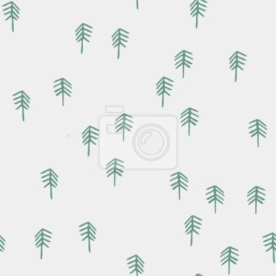 Tapeta Delikatne Woodland