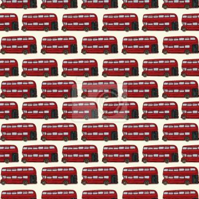 Tapeta Dwupoziomowy autobus