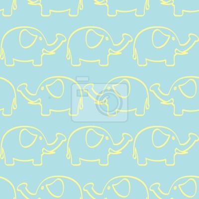 Tapeta Elephant March