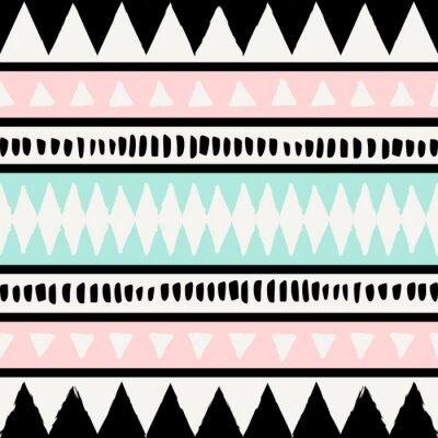 Tapeta Ethnic Seamless Pattern