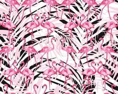 Tapeta Flamingi W Palm Beach