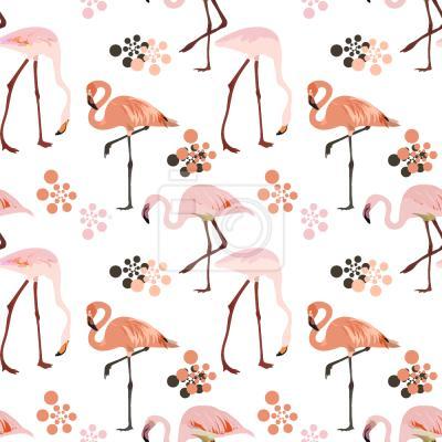 Tapeta Flamingo Życie