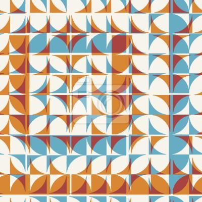 Tapeta geometria kafelkowa