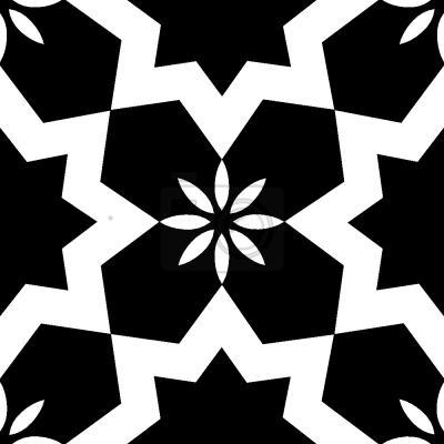 Tapeta Gwiazdy Czarno-białe
