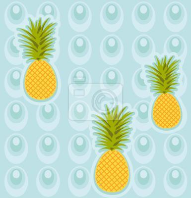 Tapeta Jacuzzi Ananas