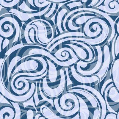 Tapeta Jednolite wzór wody