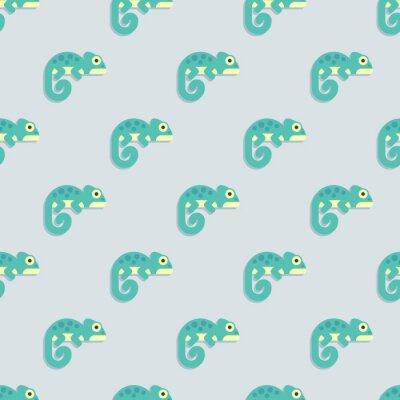 Tapeta Kameleony szwu