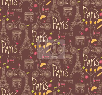 Tapeta Kocham Paryż