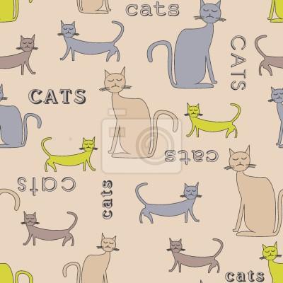 Tapeta Koty koty z kotów