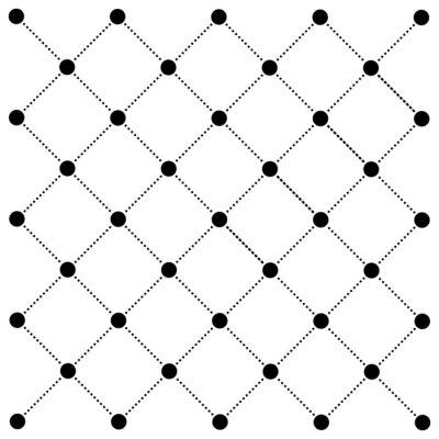Tapeta kropka linia siatki wektor wzór nowoczesne tło