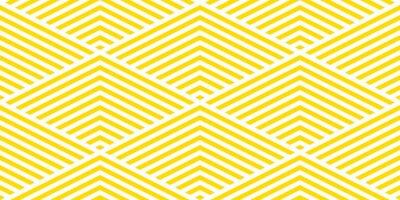 Tapeta Lato tło wzór chevron bez szwu żółty i biały.