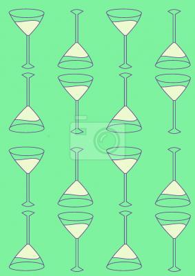 Tapeta Martini Green