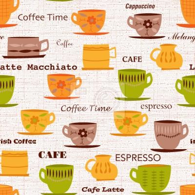 Tapeta Moje filiżanki Kawy