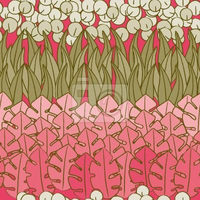 Tapeta Mommies Flower Bed