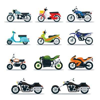 Tapeta Motocyklistów, rowerzystów, Multicolor