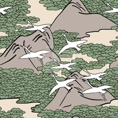 Tapeta nad górami