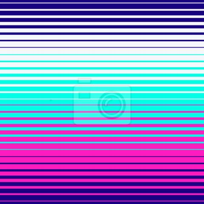 Tapeta Neon Geometry Stripes