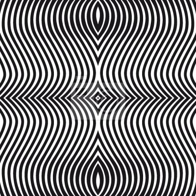 Tapeta Op Art Zebra