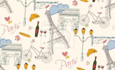 Tapeta Paryż
