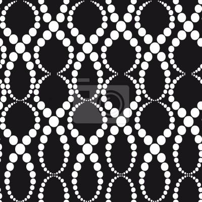 Tapeta Perły Czarno-Białe