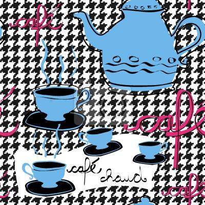Tapeta Petit Cafe