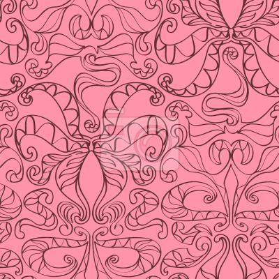 Tapeta Petle duchowe Różowe