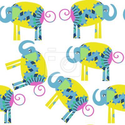 Tapeta Piękne Słonie