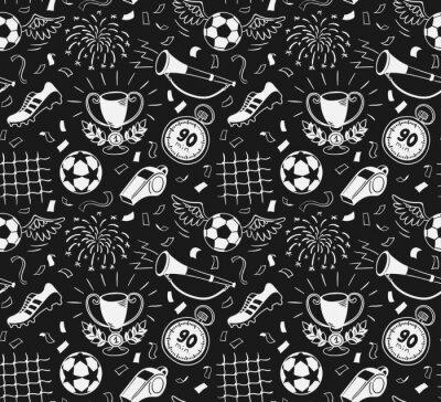 Tapeta Piłka nożna wzór
