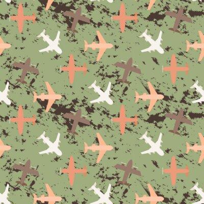 Tapeta Plane seamless pattern
