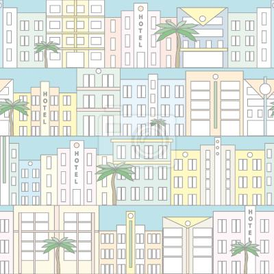 Tapeta Plaża Miami