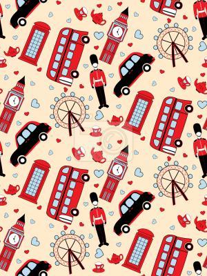 Tapeta Podróż do Londynu