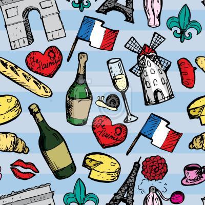 Tapeta Podróż do Paryża