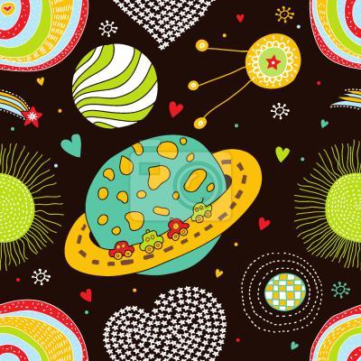 Tapeta Podróż Kosmiczna