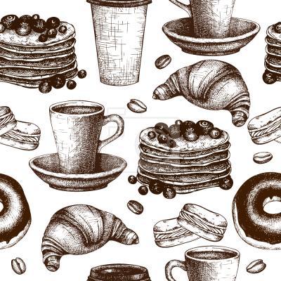 Tapeta Przerwy kawowe