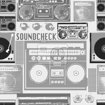 Tapeta Przetestuj dźwięk