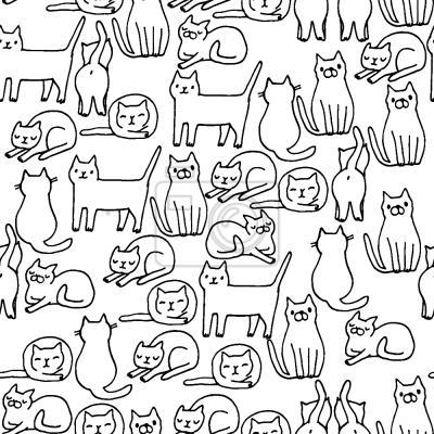 Tapeta Przytulne koty