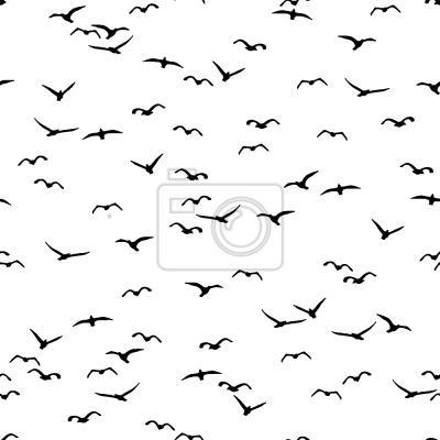 Tapeta Ptaki Latające